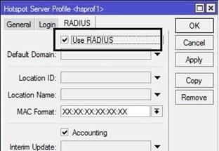 Hotspot dengan User Manager